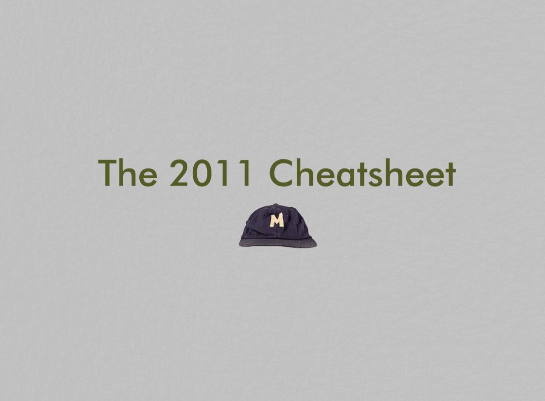 ZiPS - 2011 Fantasy Baseball - Printable Roto Cheatsheets ...