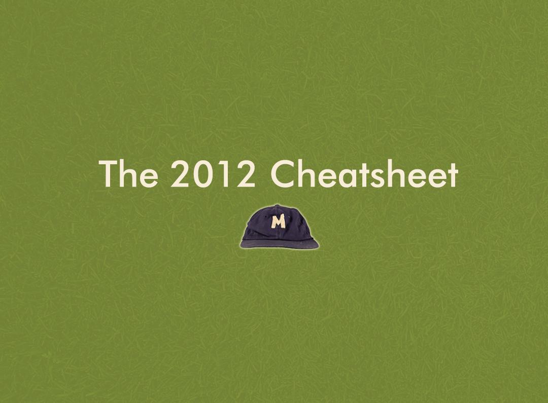 2012 Fantasy Cheatsheets   Late February Update - Mr ...