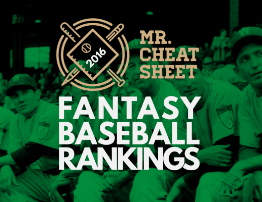2016 Special Blend Baseball Projections from Mr ...